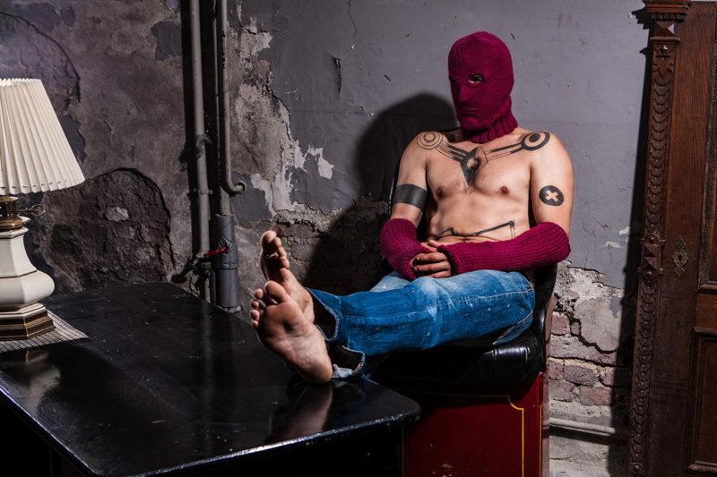Helmet Schurwolle Maske Fist Schurwolle Stulpen woolbond