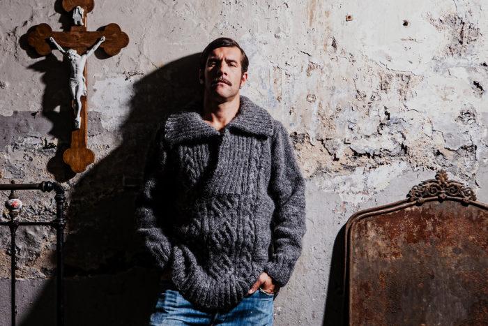 JON Schurwoll-Pullover woolbond