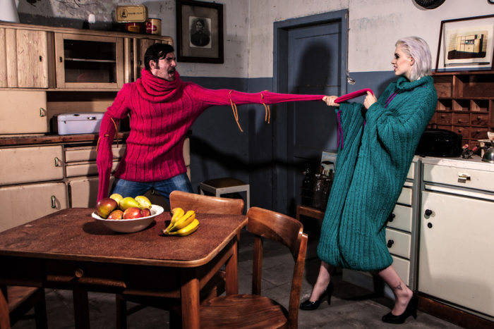 Sleeve Mohair Kokon Schurwolle 2 woolbond